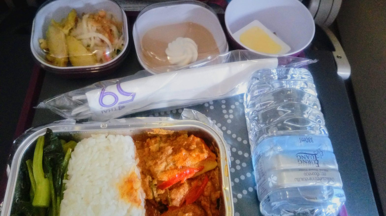 Thai Airways meal