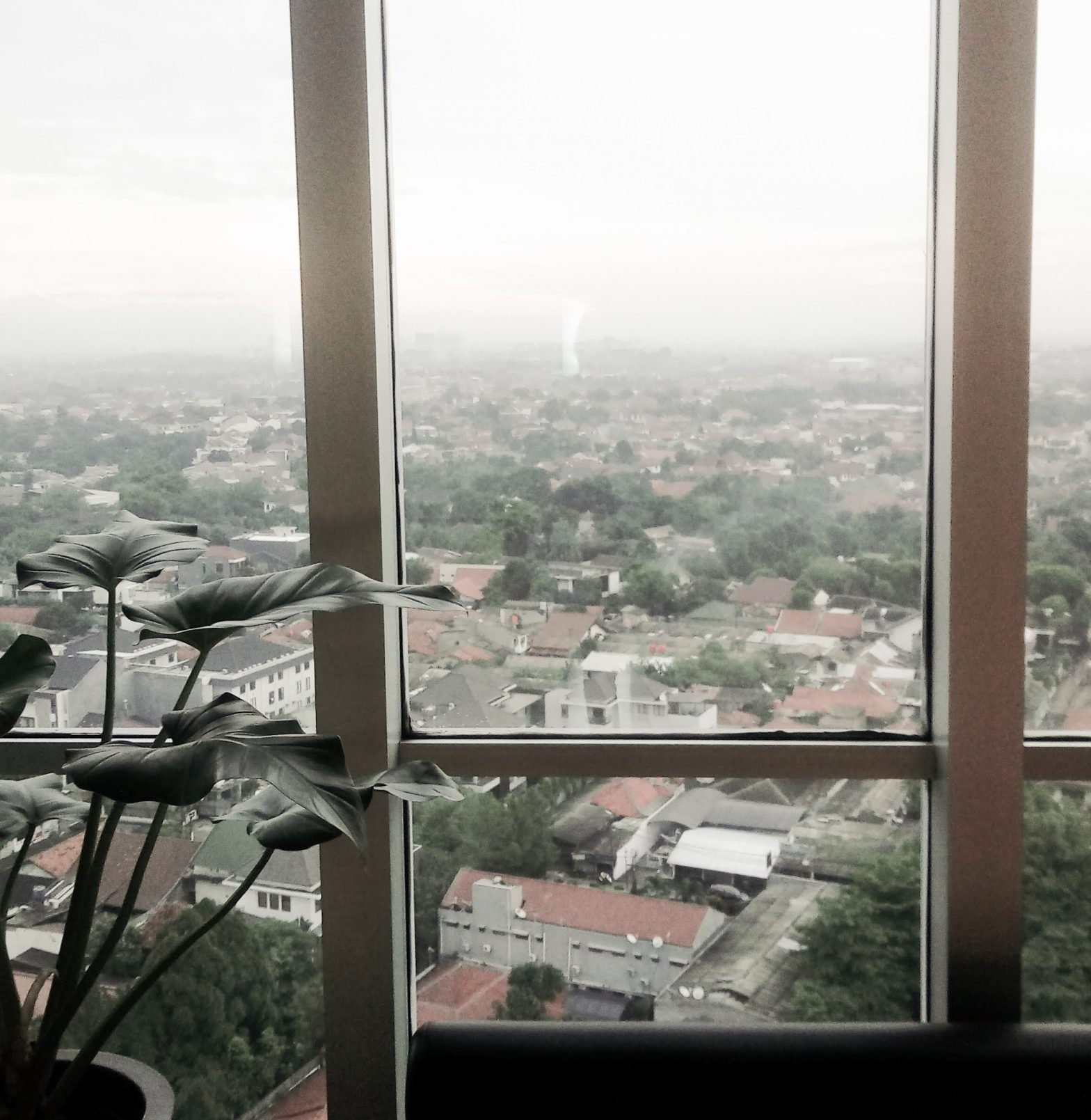 Jakarta from the window of my office